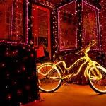Weihnachten-Fahrrad-Geschenk